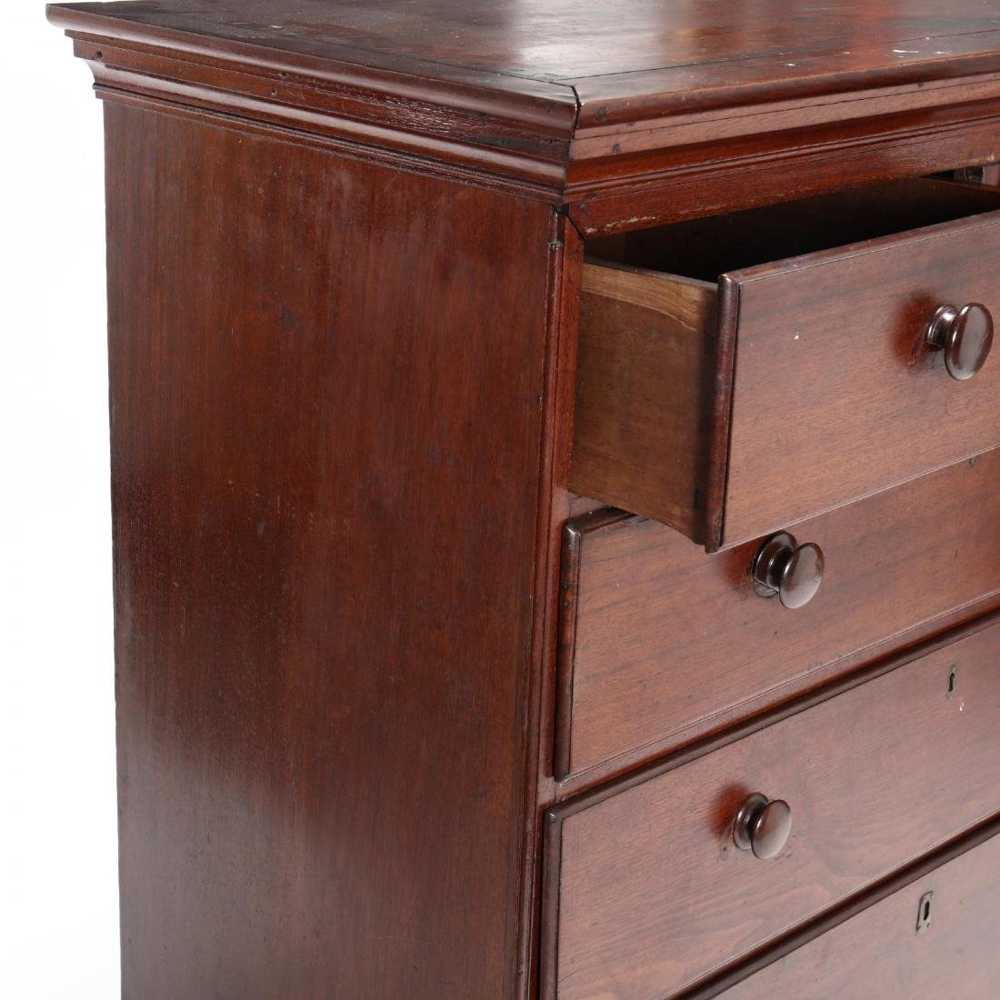 Southern Chippendale Walnut Chest of Drawers - 4