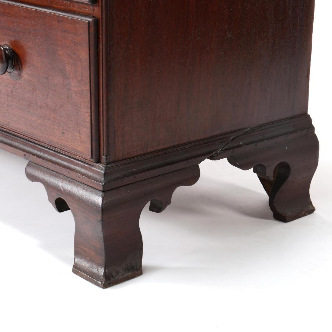 Southern Chippendale Walnut Chest of Drawers - 6
