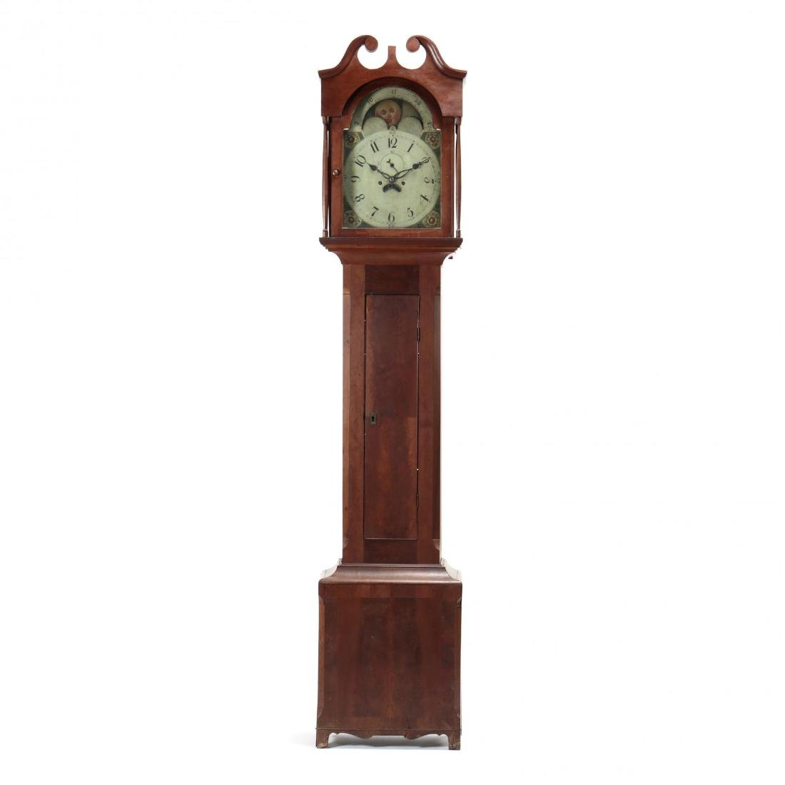 Southern Federal Tall Case Cherry Clock
