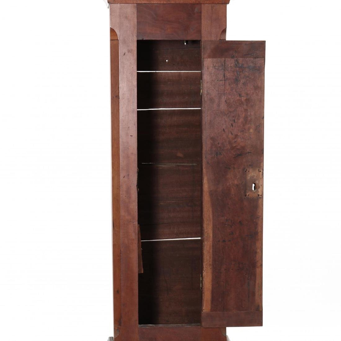 Southern Federal Tall Case Cherry Clock - 5