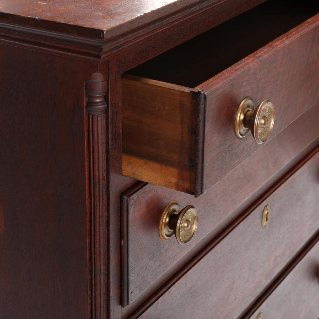 Mid-Atlantic Chippendale Walnut Chest of Drawers - 4