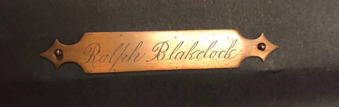 Ralph Albert Blakelock (NY/CA, 1847-1919), Forest - 2