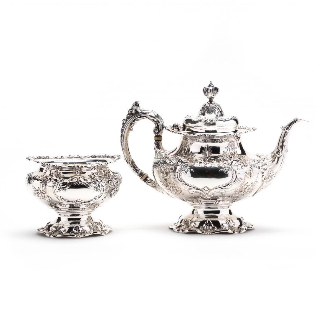 "Reed & Barton ""Francis I"" Sterling Silver Tea & Coffee - 10"