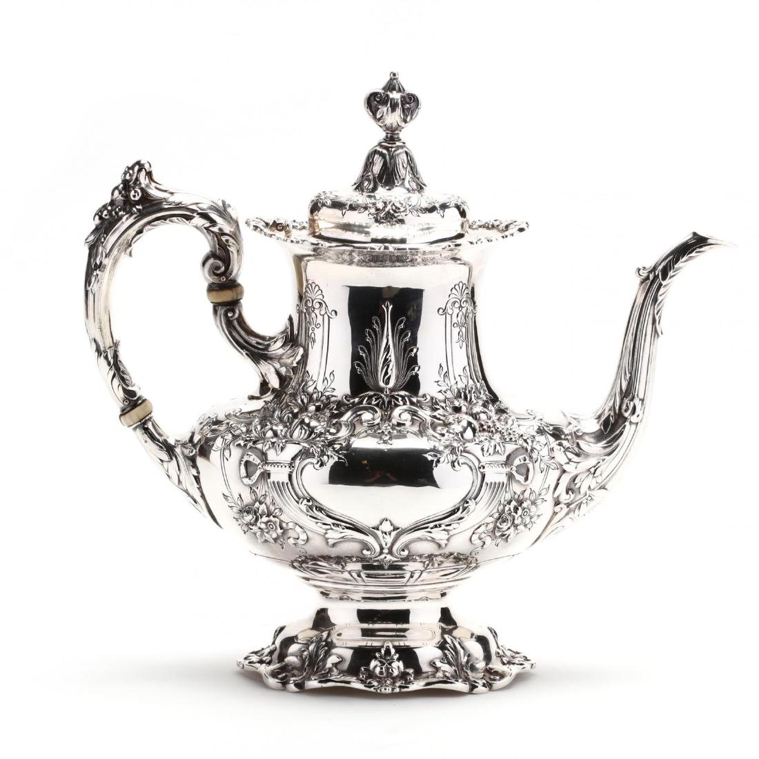 "Reed & Barton ""Francis I"" Sterling Silver Tea & Coffee - 8"