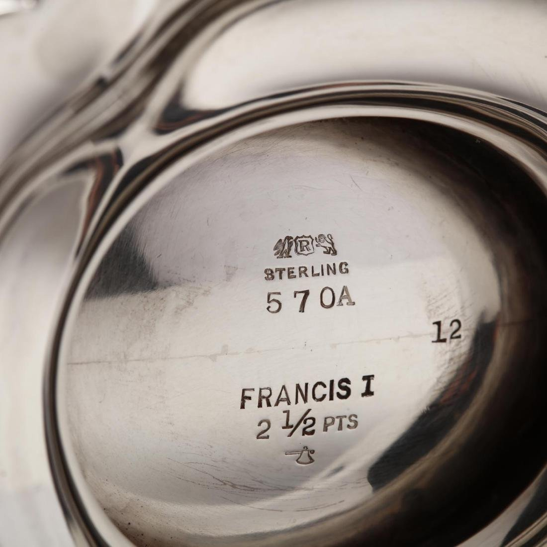 "Reed & Barton ""Francis I"" Sterling Silver Tea & Coffee - 9"