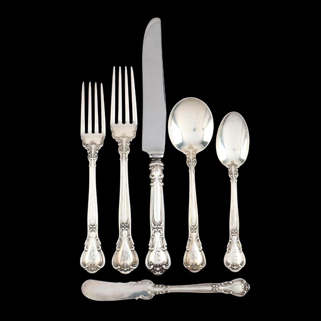 "Gorham ""Chantilly"" Sterling Silver Flatware"