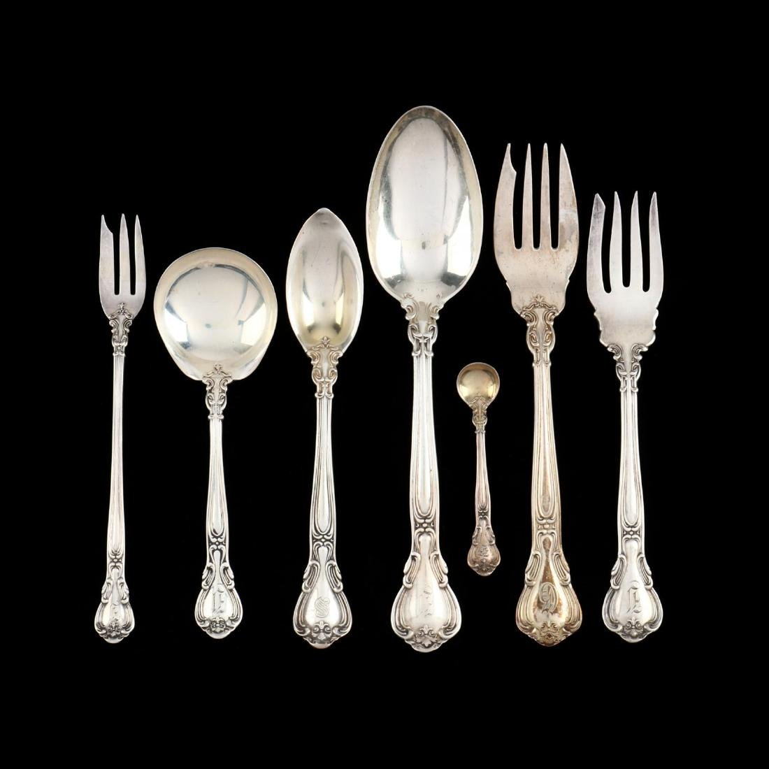 "Gorham ""Chantilly"" Sterling Silver Flatware - 4"