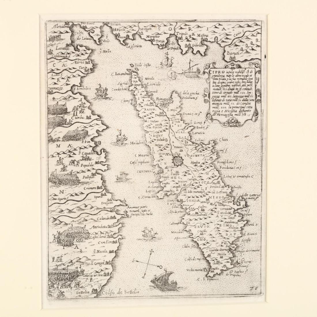 Camocio, Giovanni.  Cipro Insula - 2