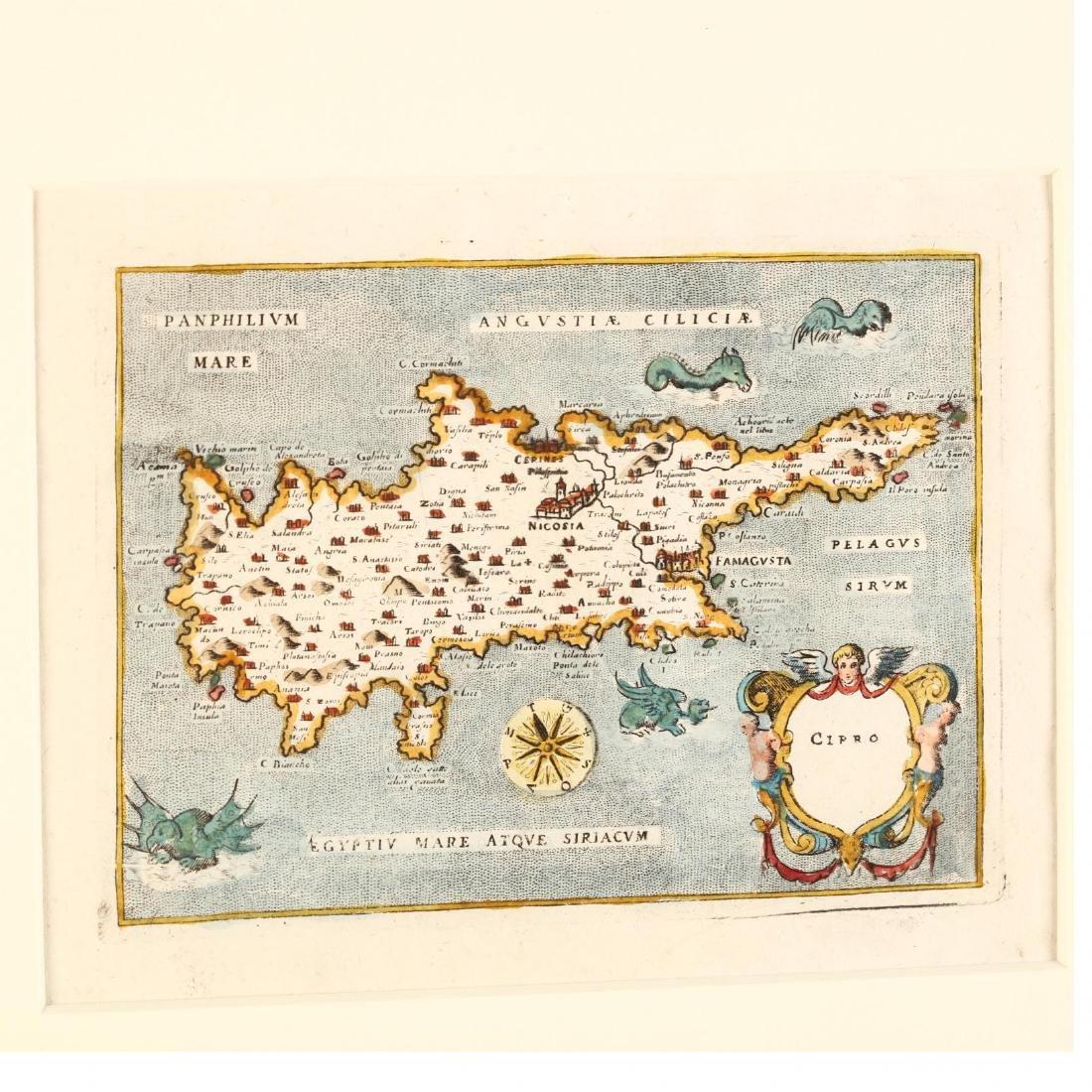 Porcacchi da Castiglione, Tomaso.  Cipro - 2