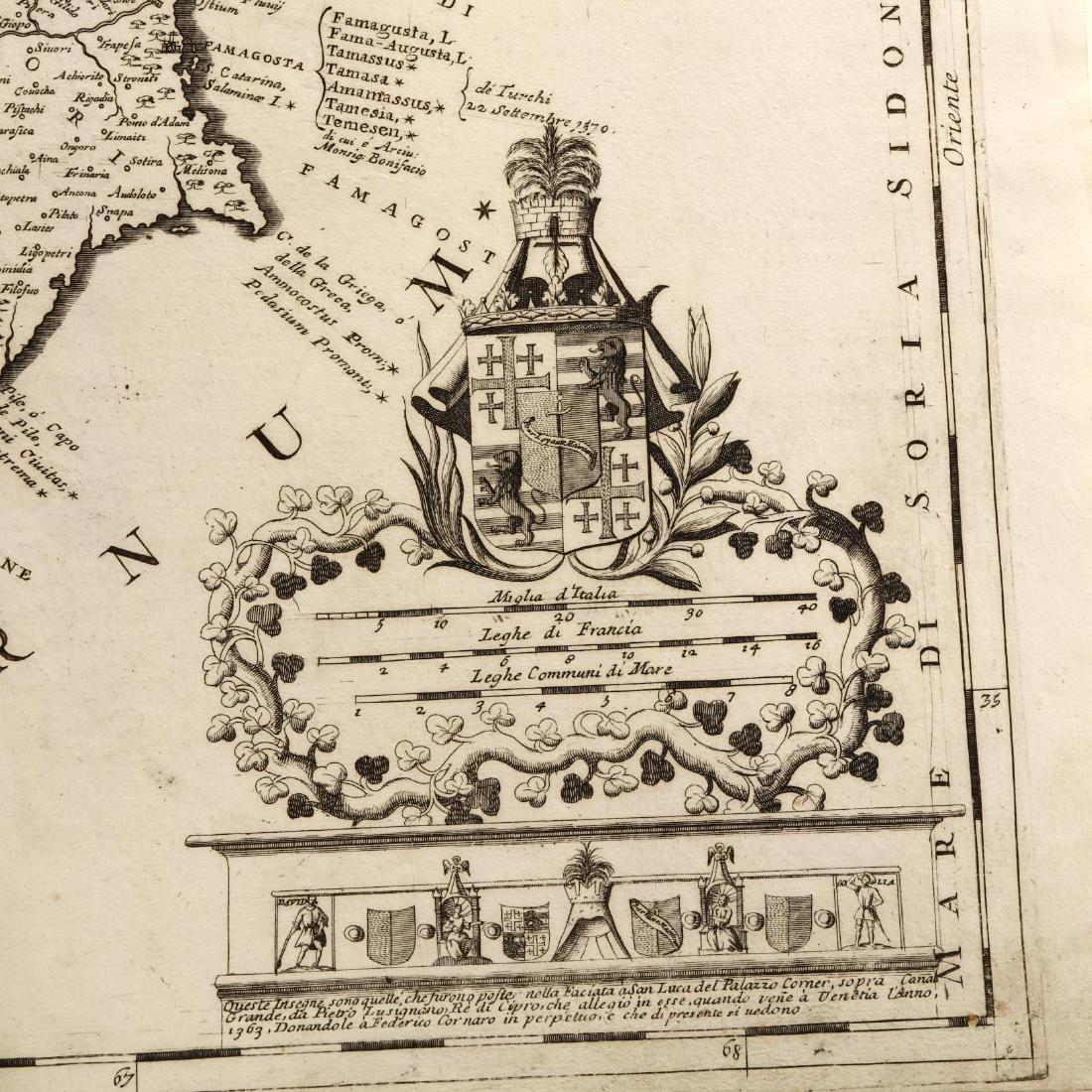 Coronelli, Vincenze Maria.  Acamantis Insula hoggidi - 2