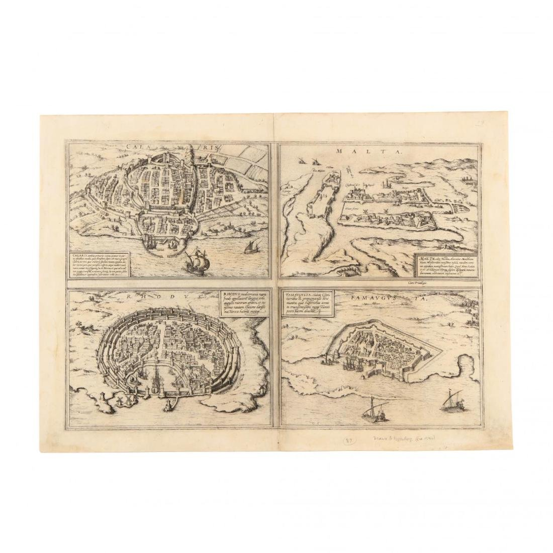 Hogenberg, F. and Braun G., Plate from  Civitates Orbis