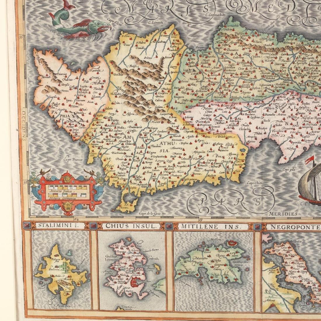 Hondius, Joducius and Mercator, Gerard.  Cyprus Ins: - 3