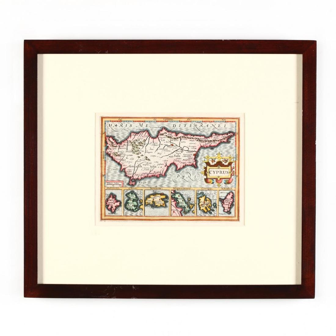 Mercator, Gerard and Hondius, Jodocus.  Cyprus