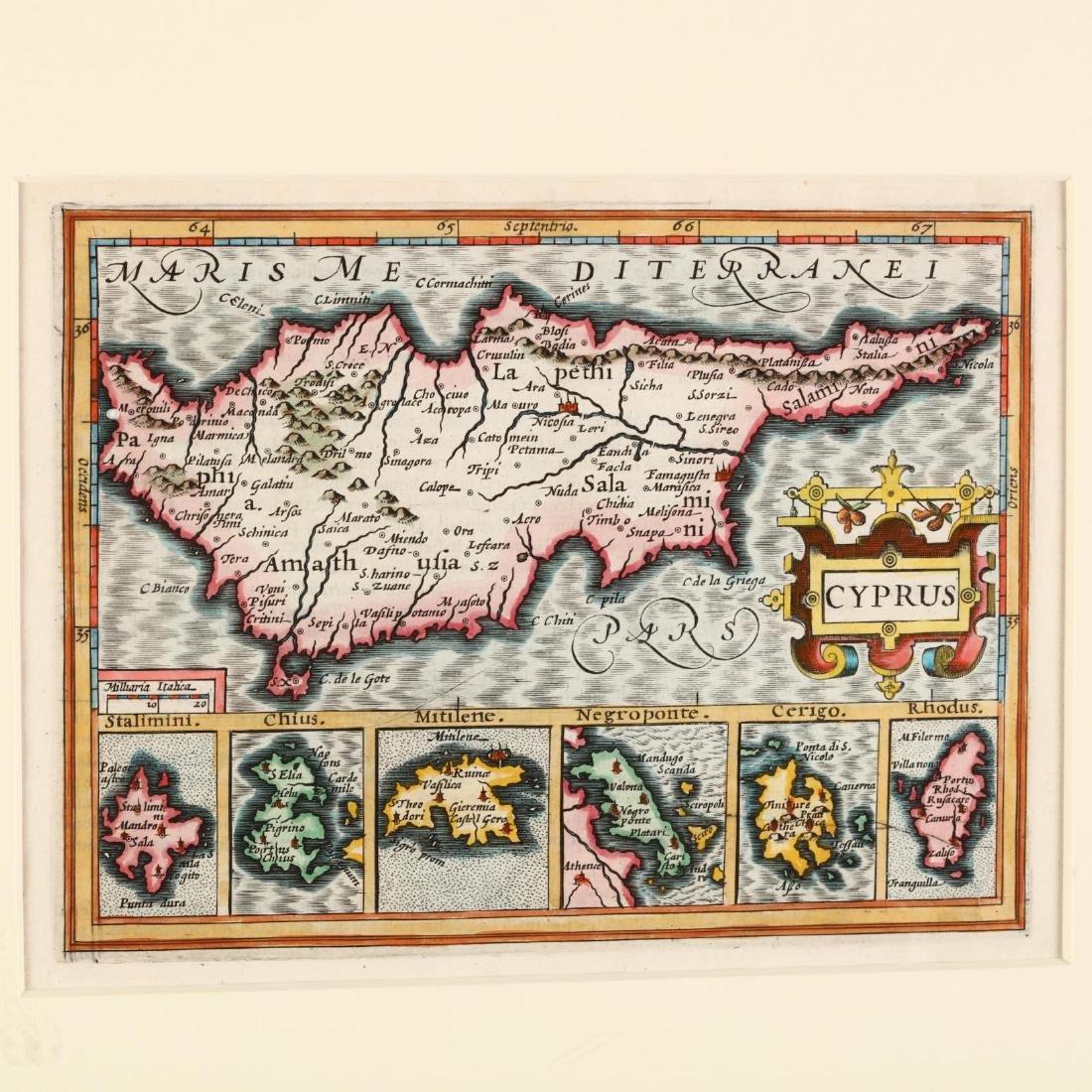 Mercator, Gerard and Hondius, Jodocus.  Cyprus - 2