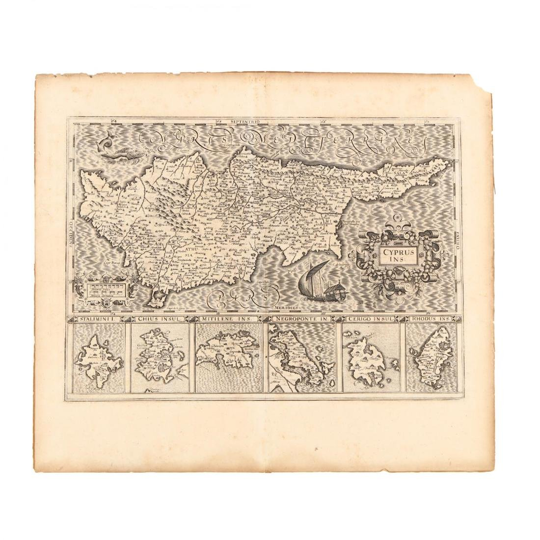 Hondius, Joducius and Mercator, Gerard.  Cyprus Ins: