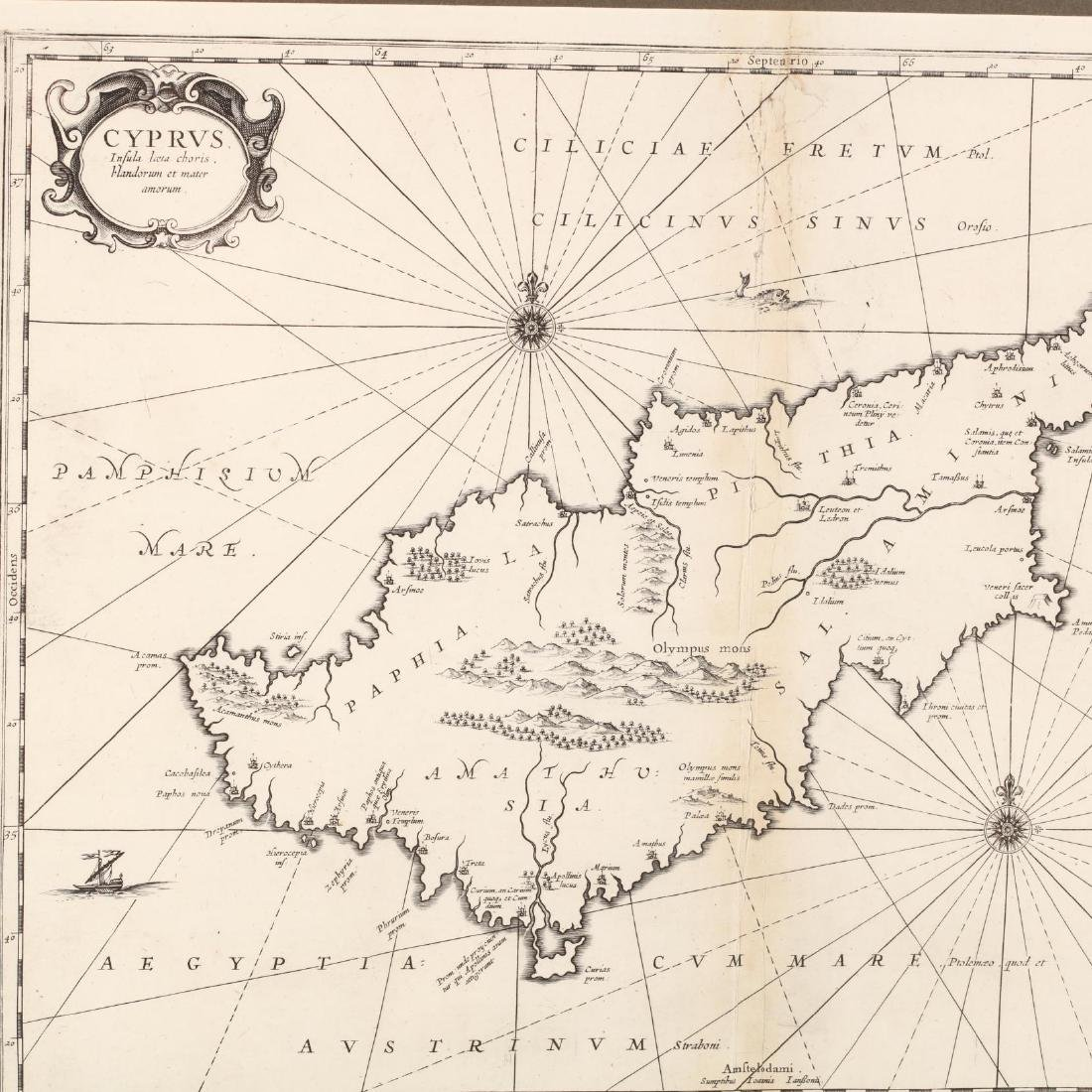 Jansson, Jan.  Cyprus. Insula laeta choris, blandorum - 2
