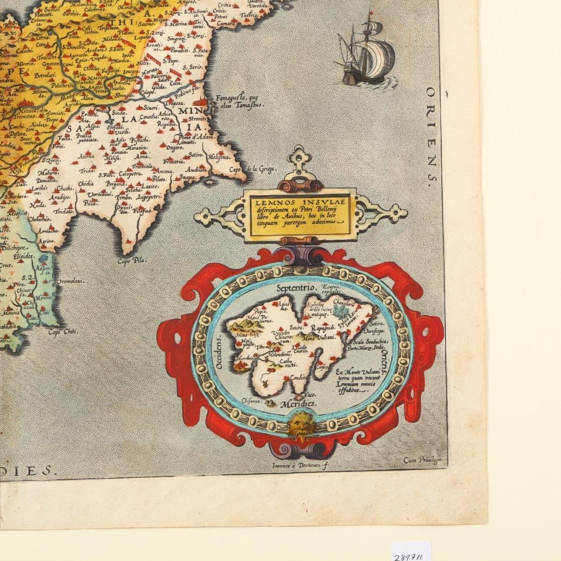 Ortelius, Abraham.  Cypri Insulae Nova Descript. - 2