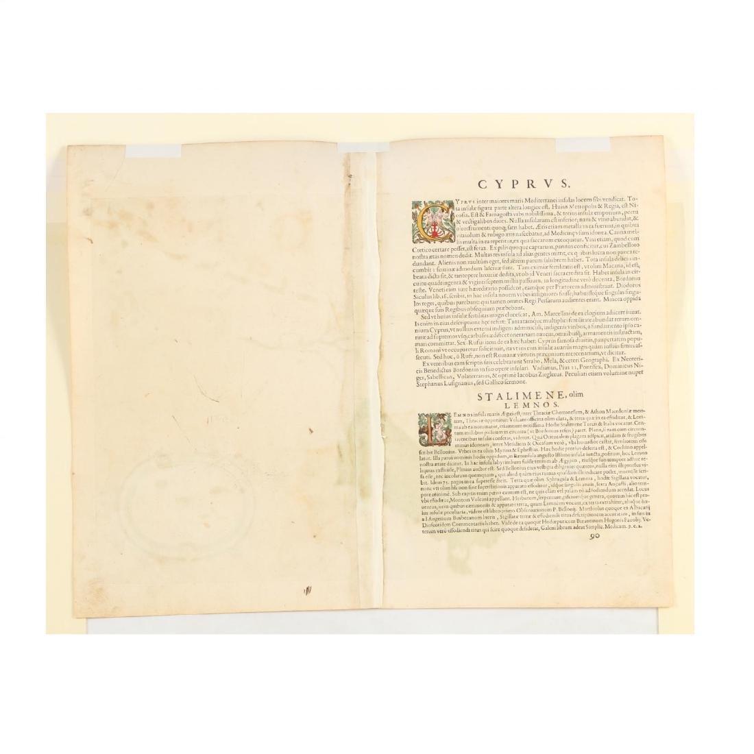 Ortelius, Abraham.  Cypri Insulae Nova Descript. - 3