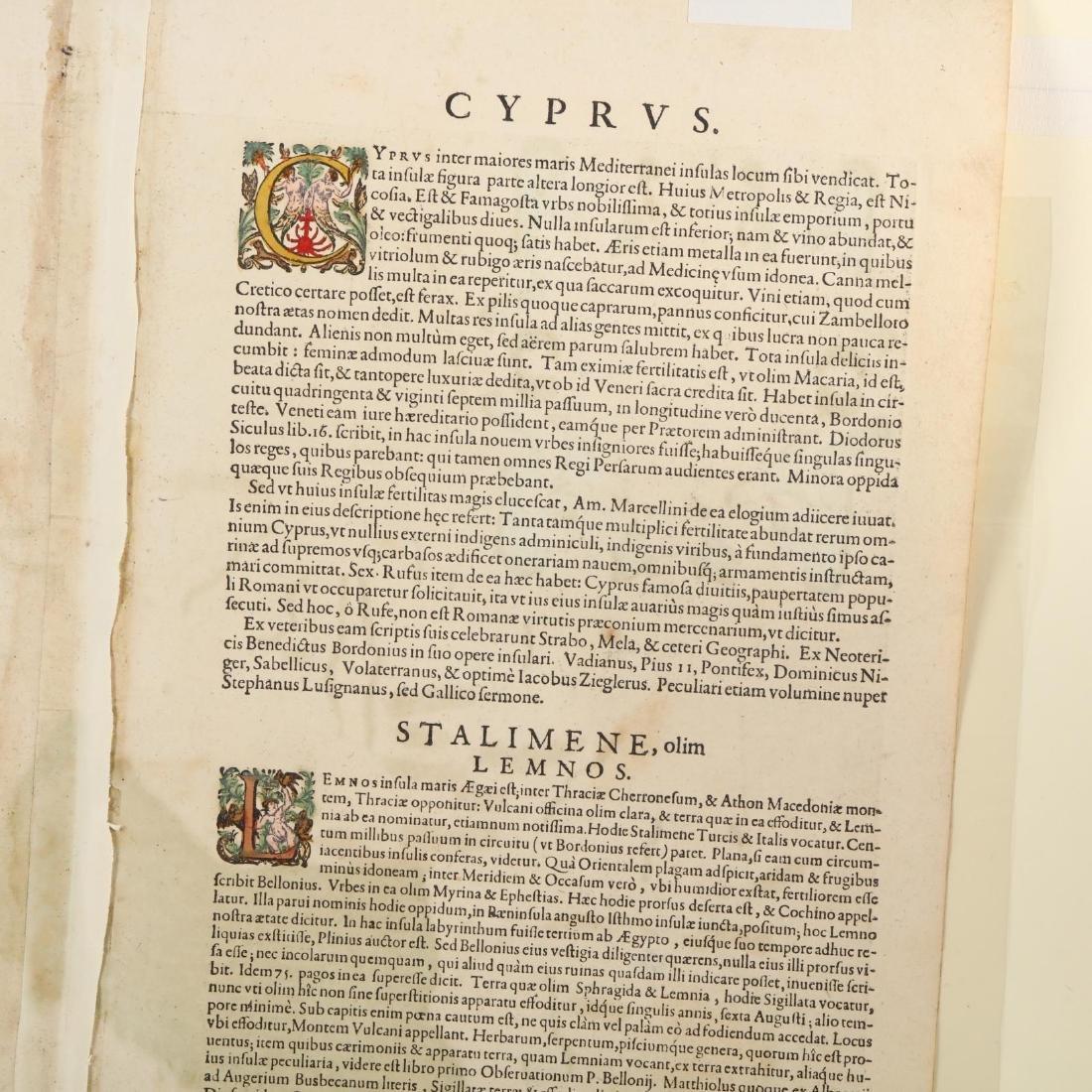 Ortelius, Abraham.  Cypri Insulae Nova Descript. - 4