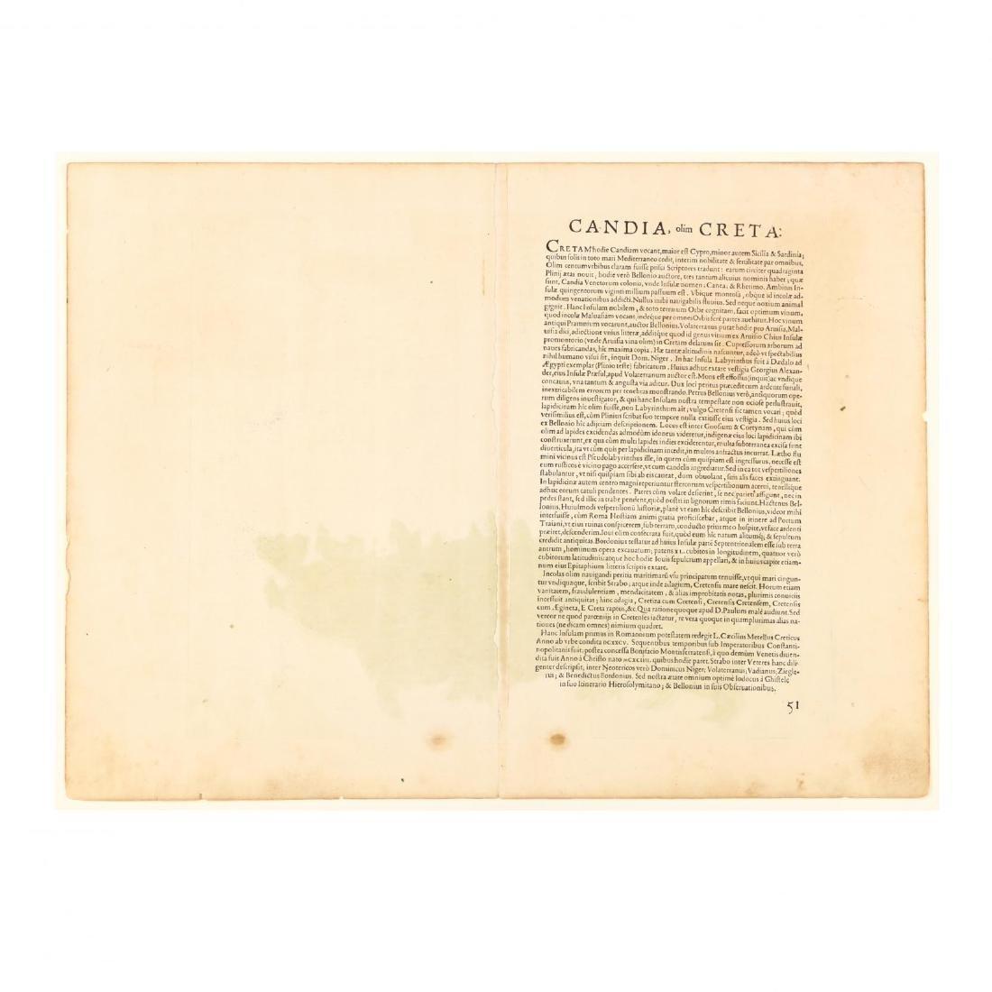 Ortelius, Abraham.  Cyprus Insula  with  Candia Olim - 3