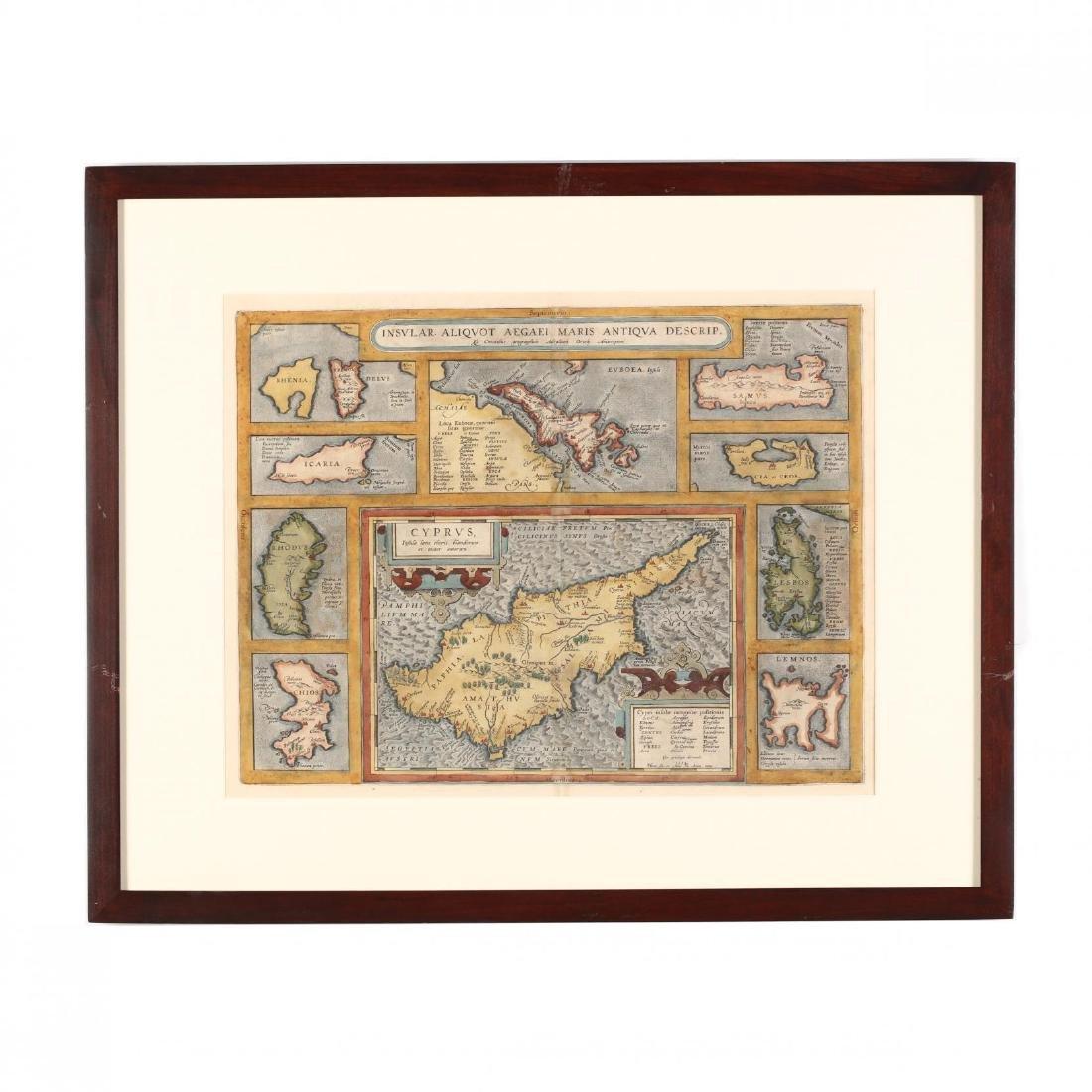 Ortelius, Abraham.  Insular. Aliquot Aegaei Maris