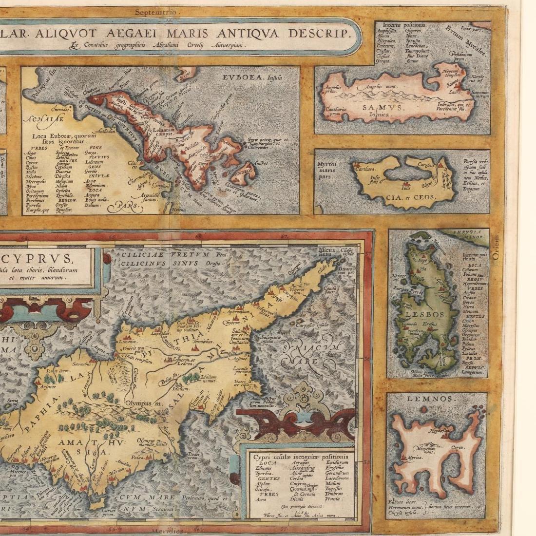 Ortelius, Abraham.  Insular. Aliquot Aegaei Maris - 3