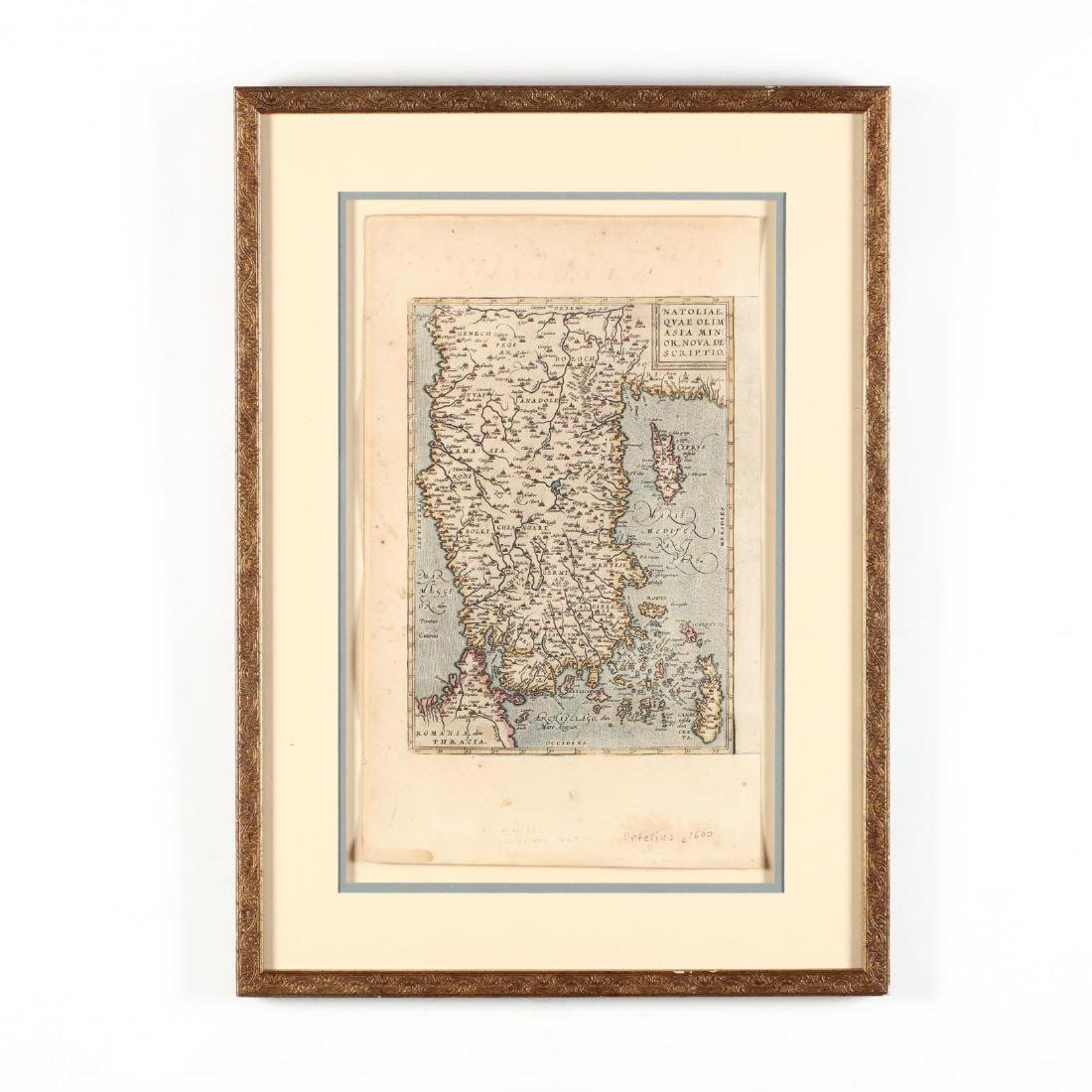 Ortelius, Abraham.   Natoliae, Quae Olim Asia Minor