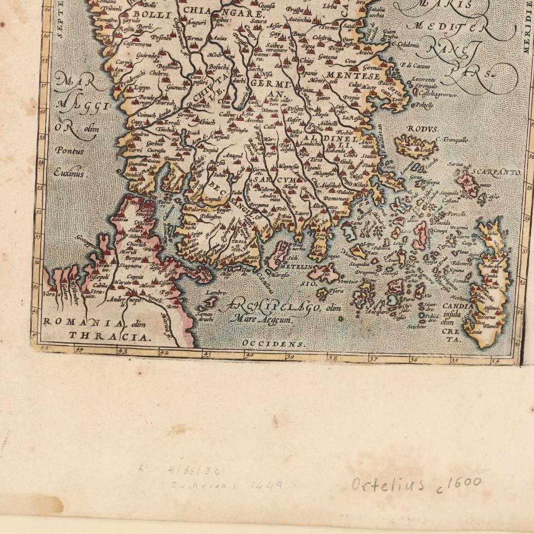 Ortelius, Abraham.   Natoliae, Quae Olim Asia Minor - 2