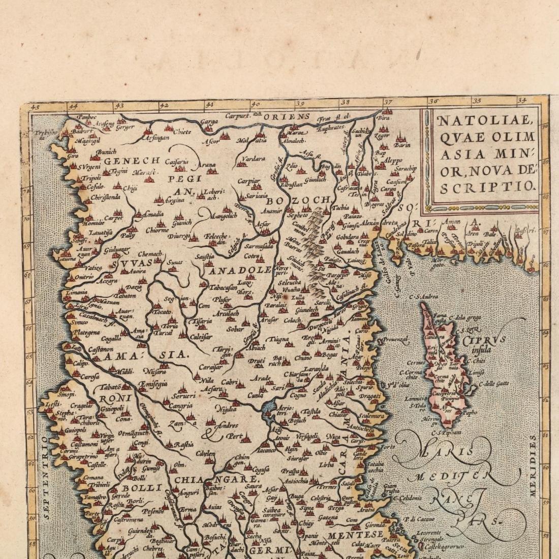 Ortelius, Abraham.   Natoliae, Quae Olim Asia Minor - 3