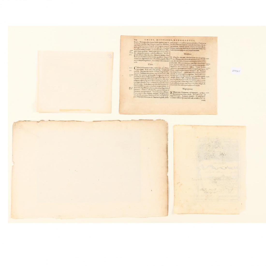 Four Small Antique Maps Pertaining to Cyprus - 3
