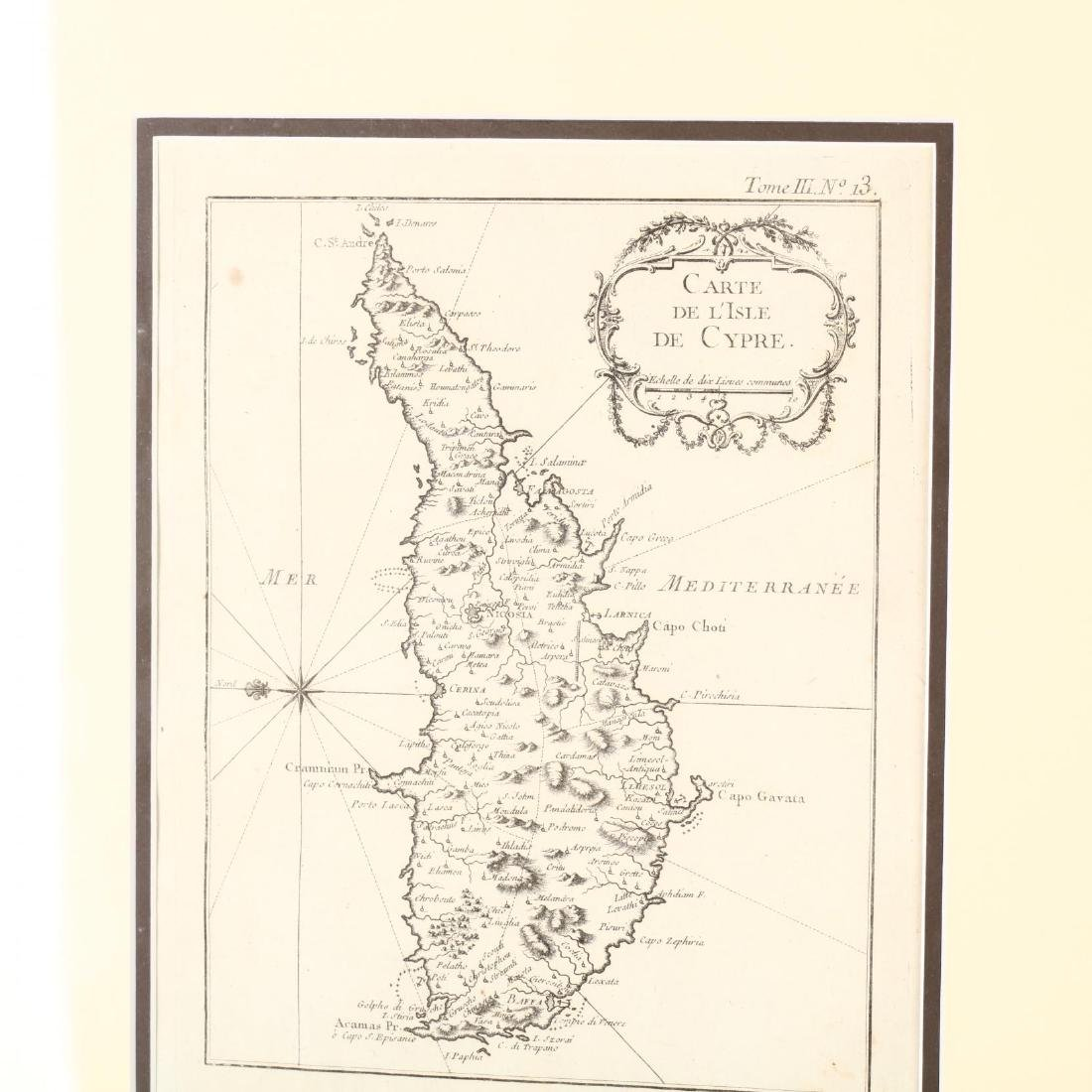 Three Copperplate Maps of Cyprus on Disbound Book - 4