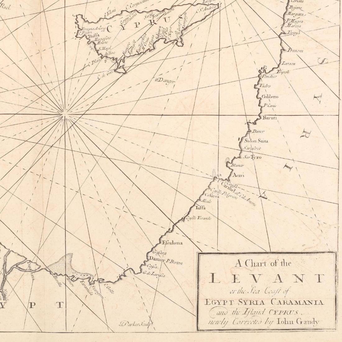 18th Century English Sea Chart of the Eastern - 2