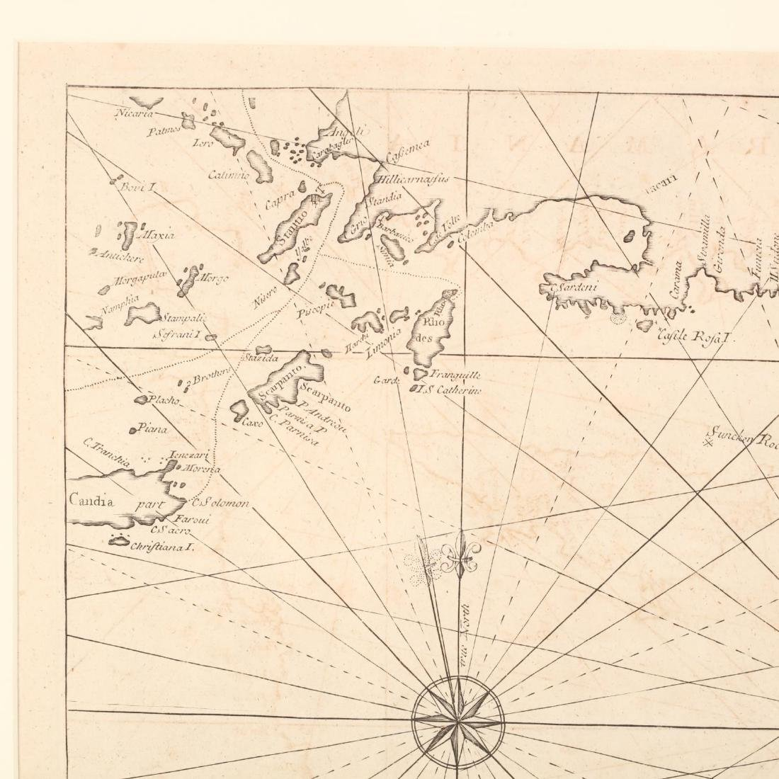 18th Century English Sea Chart of the Eastern - 3