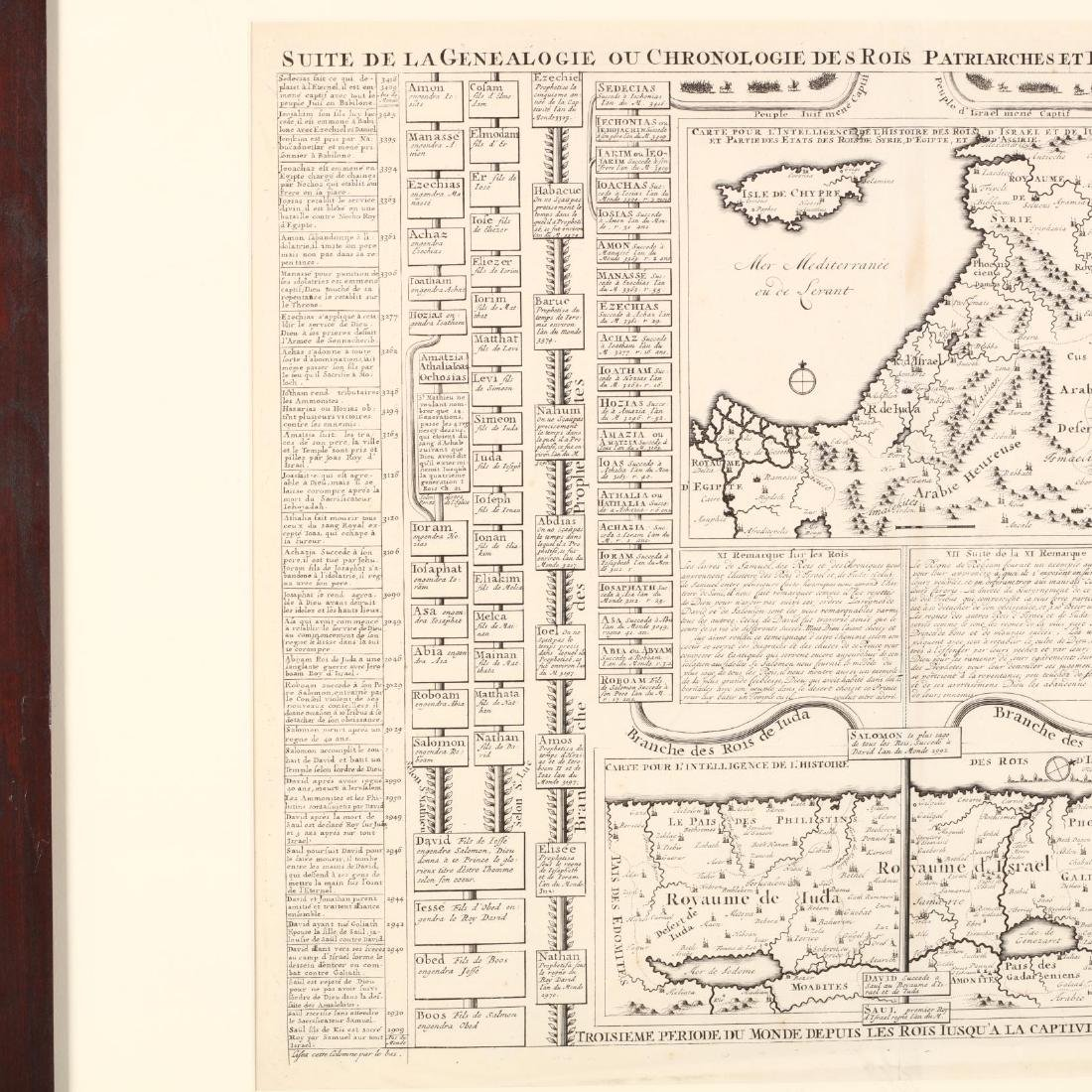 Early 18th Century French Chart of Biblical Geneaology - 2