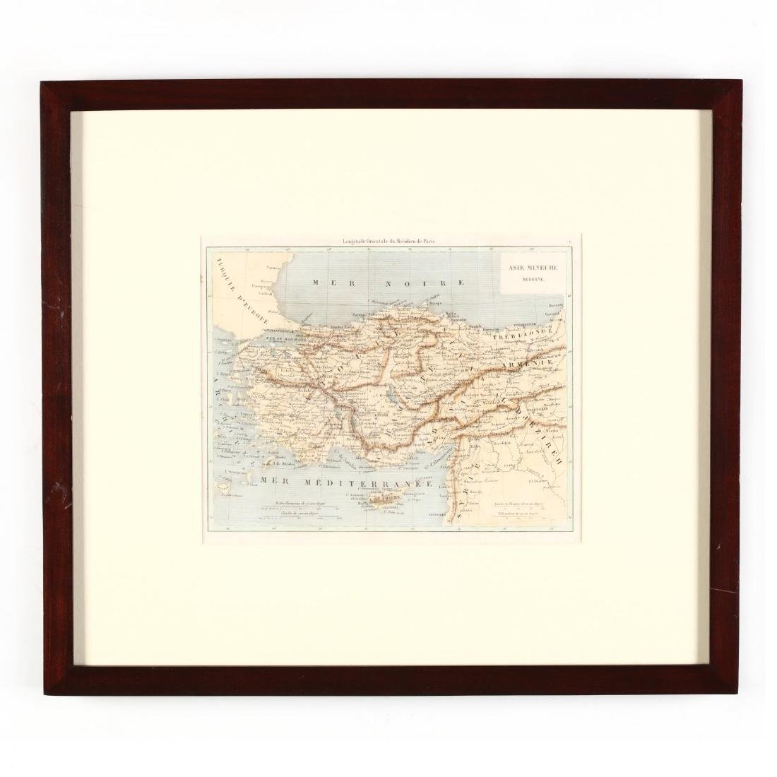 Two 19th Century Maps of Cyprus - 2