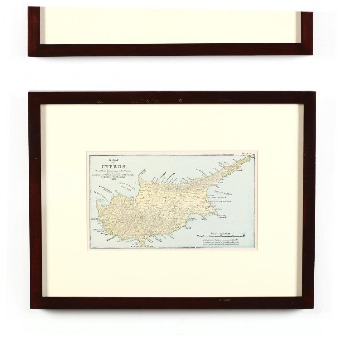 Two 19th Century Maps of Cyprus - 3