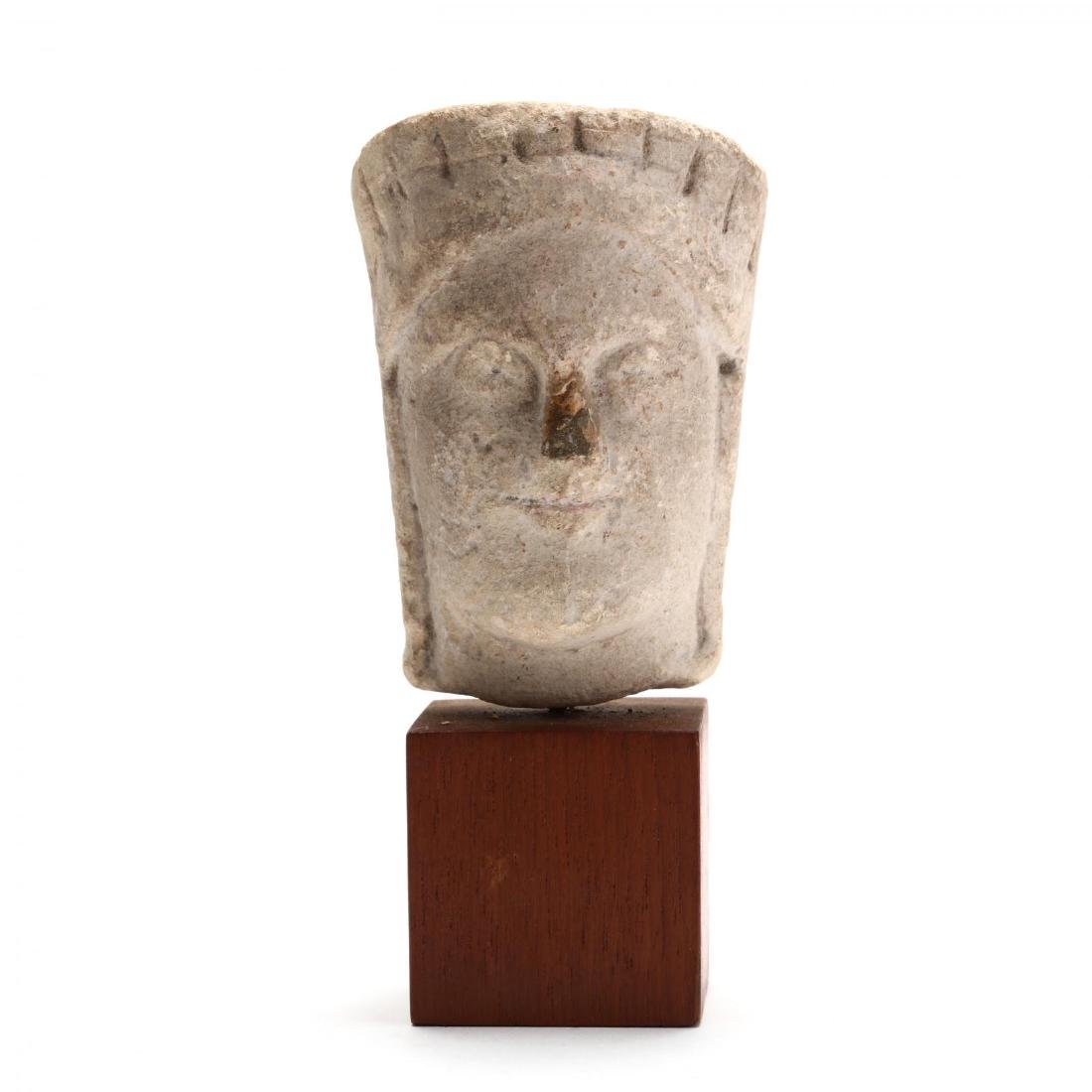 Cypriot Limestone Head