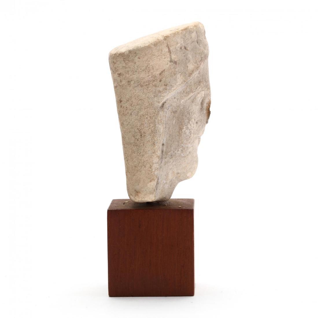 Cypriot Limestone Head - 2