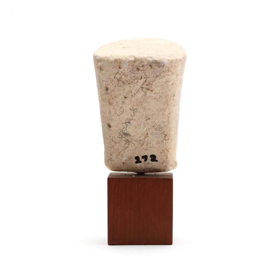 Cypriot Limestone Head - 3