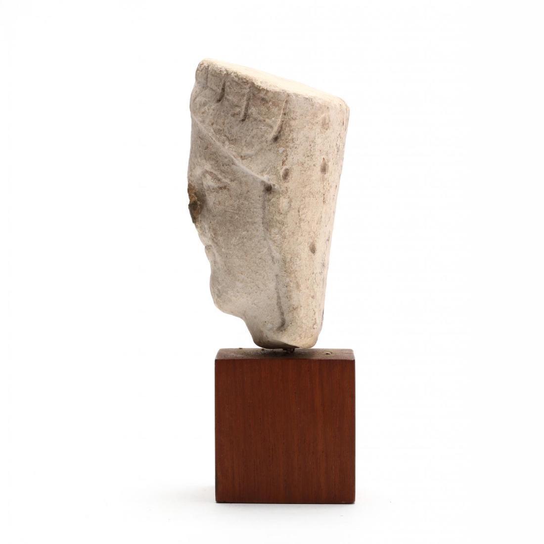Cypriot Limestone Head - 4