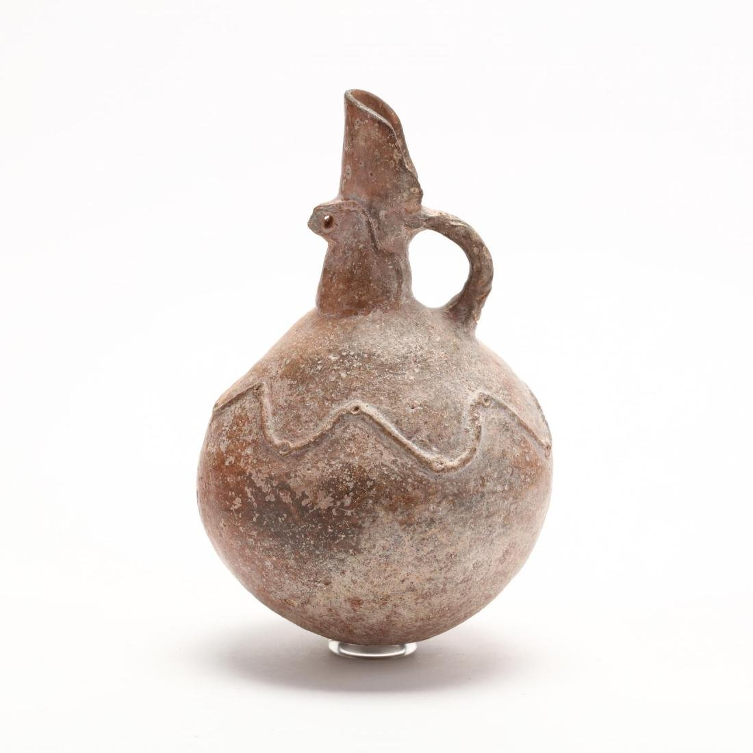 Cypriot Middle Bronze Age Polished Red Ware Jug - 3