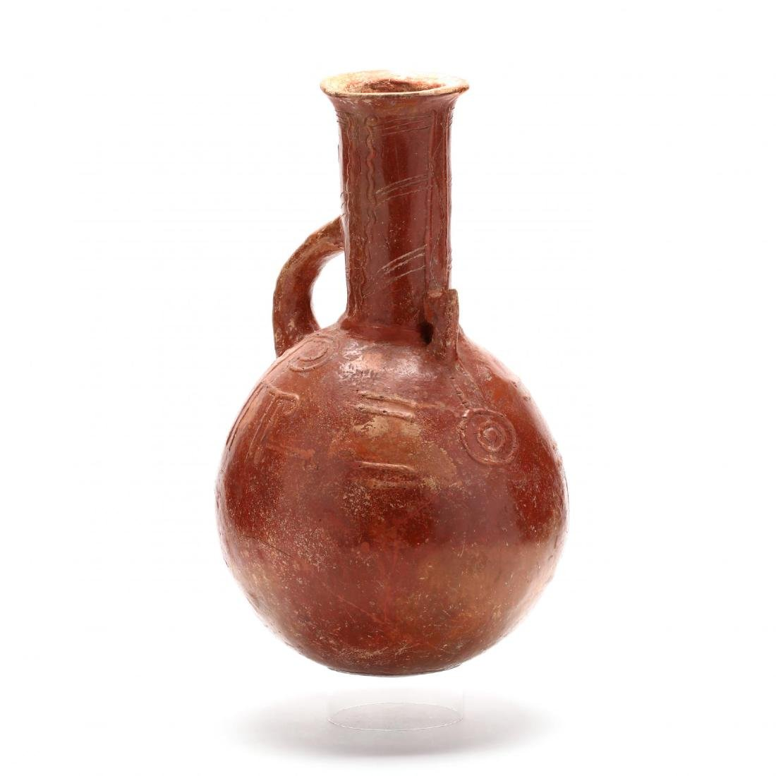 Cypriot Early Bronze Age Polished Red Ware Pitcher