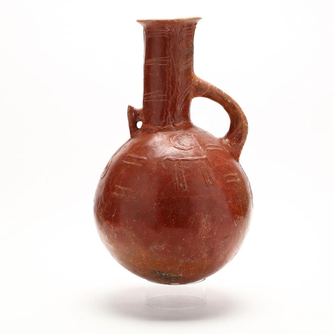 Cypriot Early Bronze Age Polished Red Ware Pitcher - 3