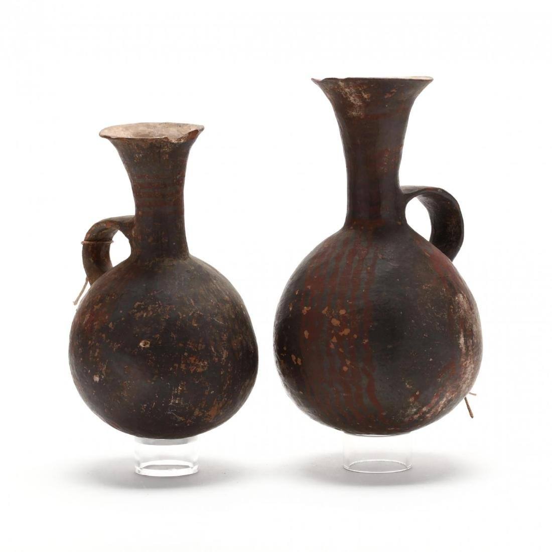 Near Pair of Middle Bronze Age Pitchers