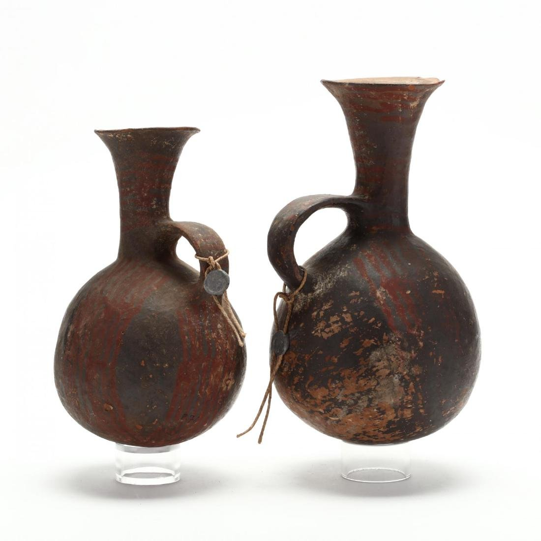 Near Pair of Middle Bronze Age Pitchers - 4