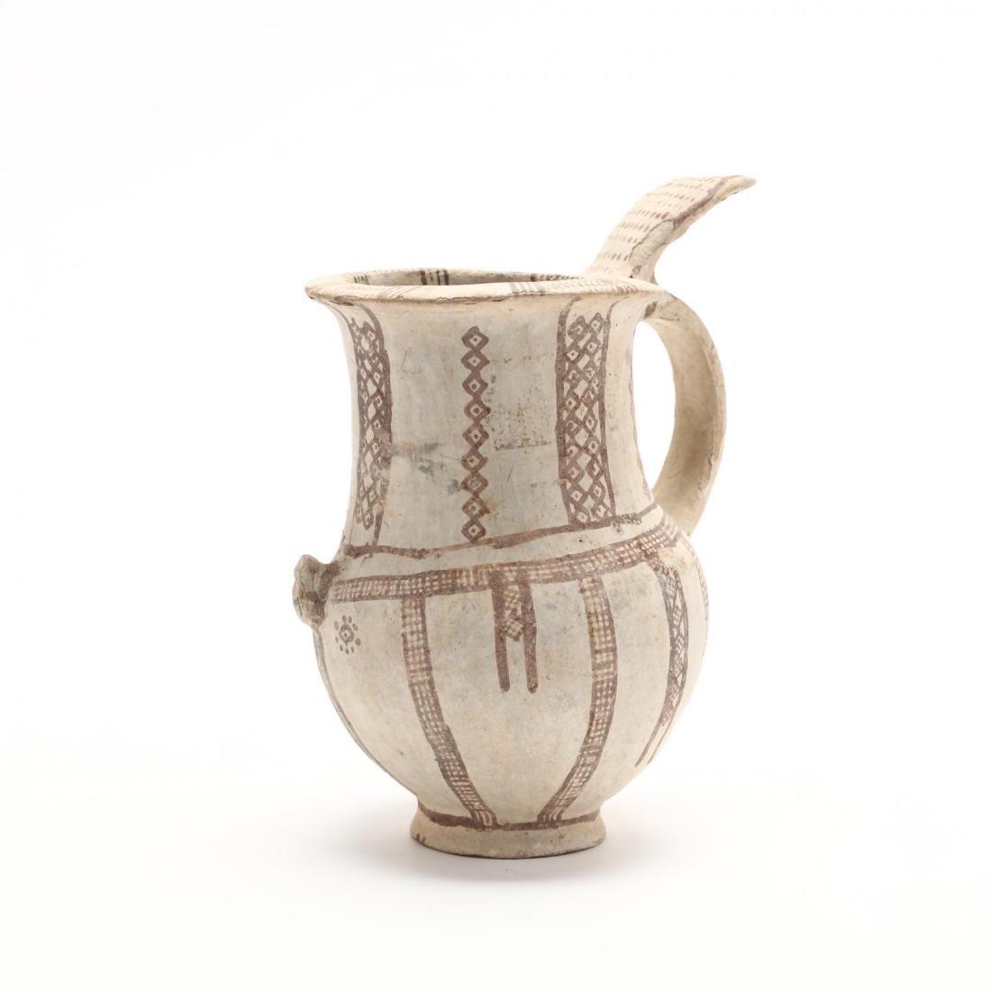 Cypriot Bronze Age Bichrome Jug - 3