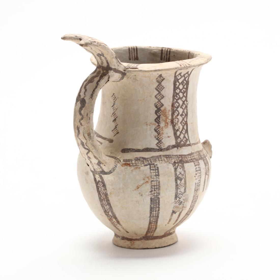Cypriot Bronze Age Bichrome Jug - 4