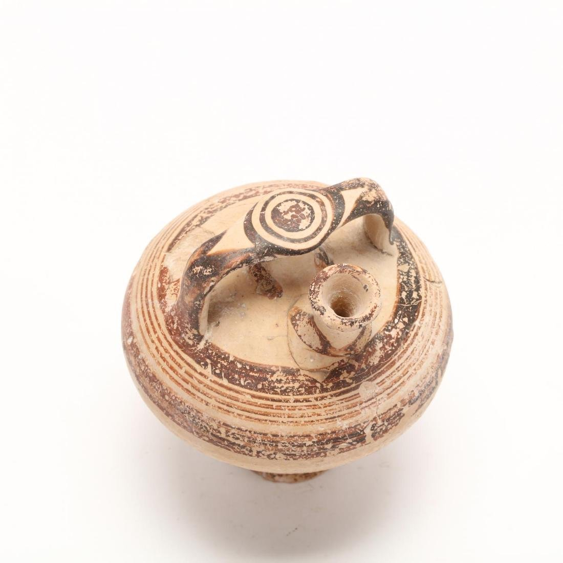 Cypro-Mycenaean Pottery Stirrup Jar - 2