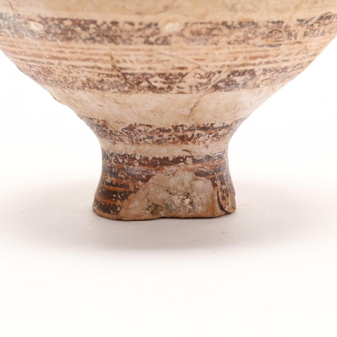Cypro-Mycenaean Pottery Stirrup Jar - 5