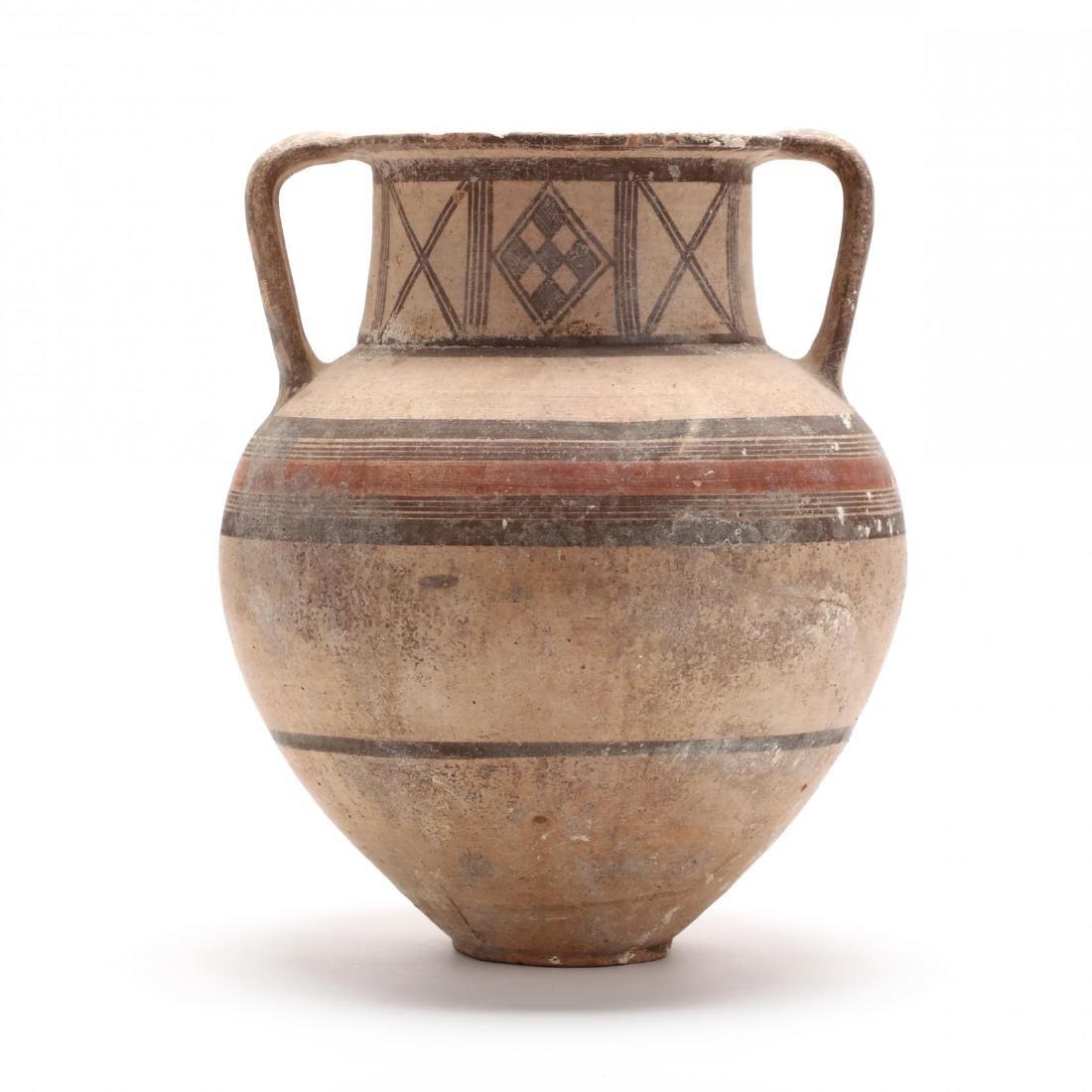 Cypro-Geometric Bichrome Amphora